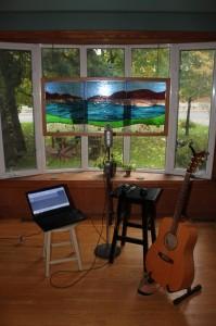 """My """"studio""""."""
