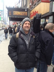 Outside the Mirvish Theatre